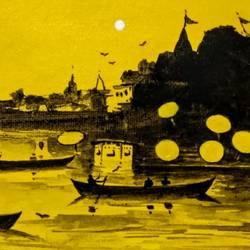 Banaras 2019 - II size - 11x6In - 11x6