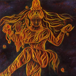 Natraj - The Cosmic Dancer size - 30x20In - 30x20
