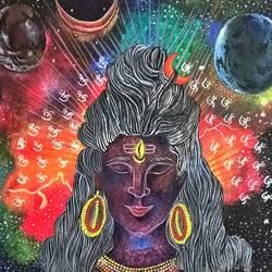 Om Namah Shivaya size - 12.9x14.2In - 12.9x14.2