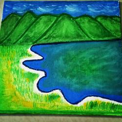 Green Valley size - 8x8In - 8x8