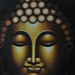 SPIRITUAL BUDDHA size - 42x48In - 42x48