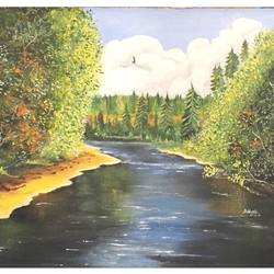 River size - 21x16In - 21x16
