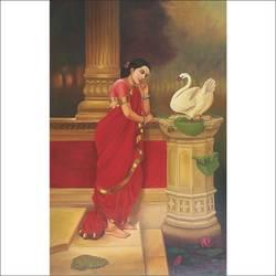 hansa damayanthi size - 24x36In - 24x36