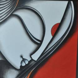 RADHE The Angel size - 24x24In - 24x24