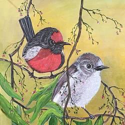 Birds size - 16x20In - 16x20