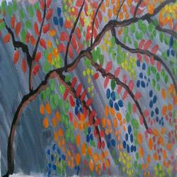 THE ABSTRACT TREE size - 16x7.5In - 16x7.5