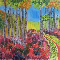 THE COLOR OF FOREST size - 16x12In - 16x12