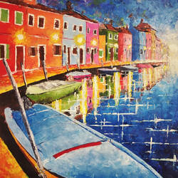 Beauty of Venice  size - 13.5x21.5In - 13.5x21.5