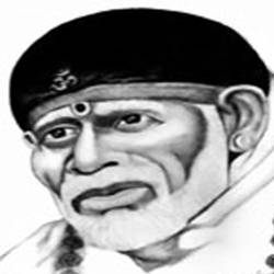 SAI BABA OF SHIRDI size - 7.5x10In - 7.5x10