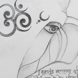 Ganesha size - 11x13In - 11x13