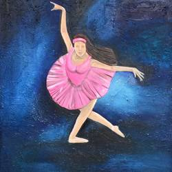 Dancing soul size - 24x30In - 24x30