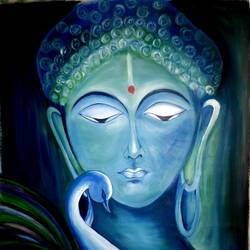 BUDHA PAINTINGS size - 20x28In - 20x28