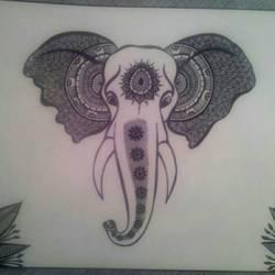 Ganesha size - 14x10In - 14x10