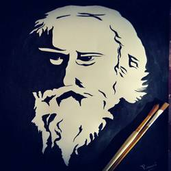 Tagore - Greatest Poet Ever size - 12x17In - 12x17
