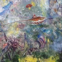 Aquarium size - 24x18In - 24x18