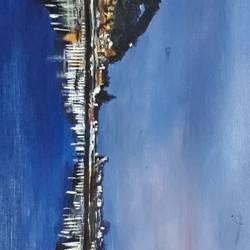 Nightqueen of Nainital size - 24x18In - 24x18