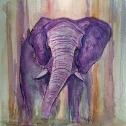 Elephant size - 12x16In - 12x16
