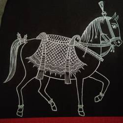 Horse size - 8x8In - 8x8