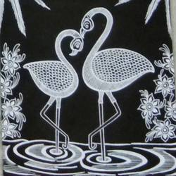Swan love size - 6x8In - 6x8