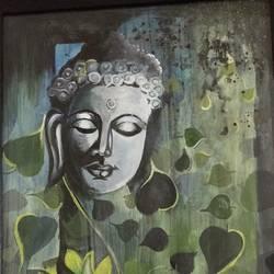 Buddha size - 12x15In - 12x15