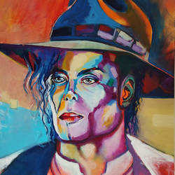 Michael Jackson size - 24x30In - 24x30