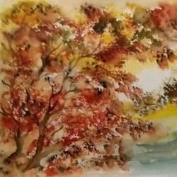 AutumnSlendour size - 12x16In - 12x16