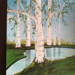 fascinating view of nature  size - 12x12In - 12x12