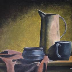 charming Beauty of still life size - 16x12In - 16x12