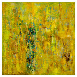 Textured abstract painting on canvas 7 size - 33x11In - 33x11