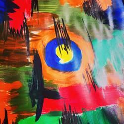 Abstract  size - 8x12In - 8x12