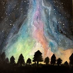 Galaxy  size - 12x15In - 12x15