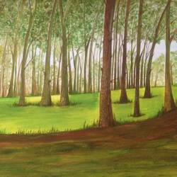 """ BEAUTY OF TREES "" size - 16x11.5In - 16x11.5"