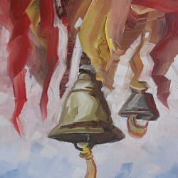 Golden Bells size - 16x24In - 16x24
