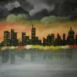 Dream City size - 16x11In - 16x11