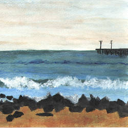 Sea size -                6.8x9.6In -                6.8x9.6