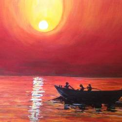 Beauty of sun sets size - 16x11.5In - 16x11.5