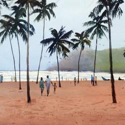 Goa series - Baga beach # 1 size - 14x10In - 14x10