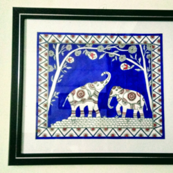 Elephants size - 12x10In - 12x10
