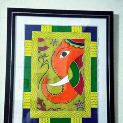 Madhubani painting size - 11x15In - 11x15