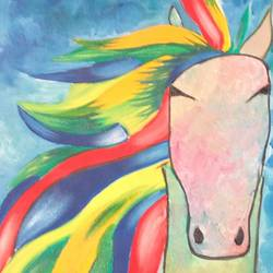 Horse size - 18x24In - 18x24
