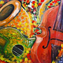 Music is My Life size - 18x14In - 18x14