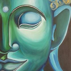 Buddha -Nirvana size - 22x30In - 22x30