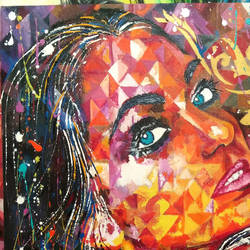 Expression  size - 25x31In - 25x31