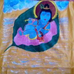 Shri. BaalGopal size - 15x17.5In - 15x17.5