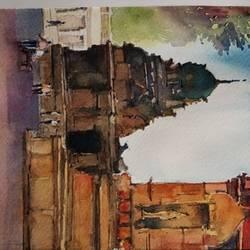 Brihadeshwara Temple size - 5x8In - 5x8
