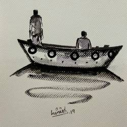 Boat size - 8x11In - 8x11
