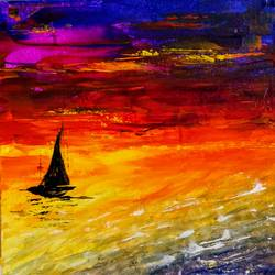 Adrift size - 12x12In - 12x12