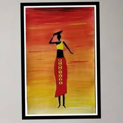 Modern Art size - 14x22In - 14x22