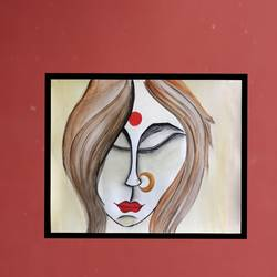 Beauty of a woman size - 20x16In - 20x16