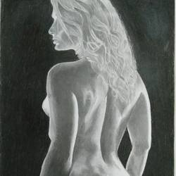 Naked Beauty size - 14x21In - 14x21